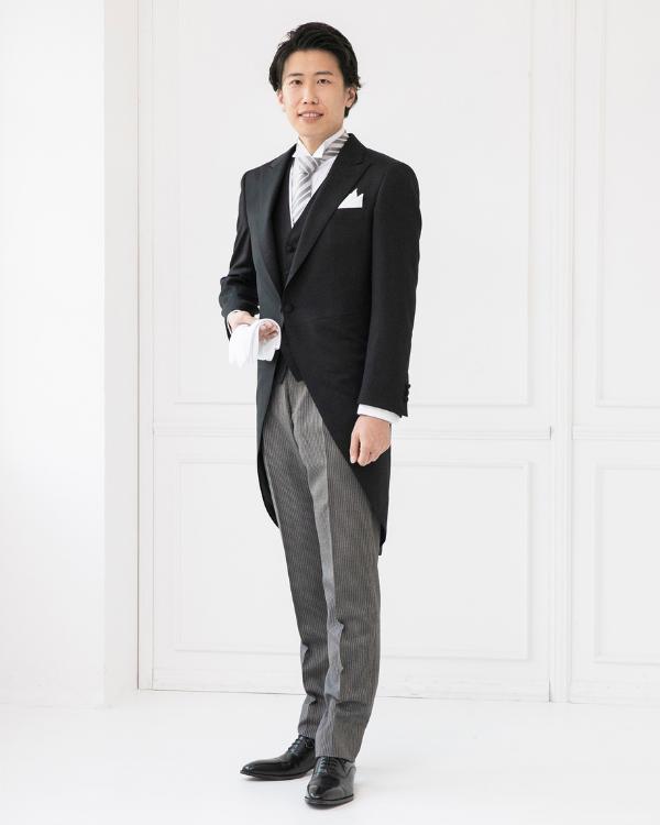 【サイズ選択可】紳士モーニングコートセット