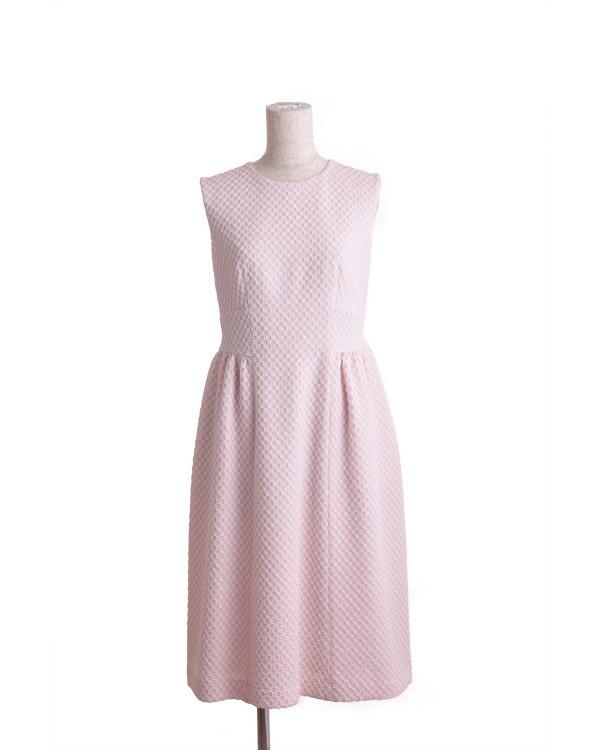 【ピンク 9号】ソフトラメジャカード ドレス