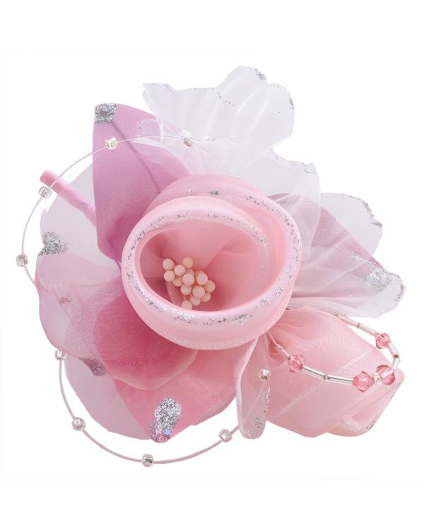 【ピンク】 ミニサイズコサージュ